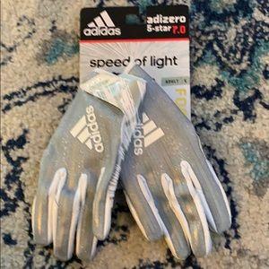Adidas speed of light football gloves